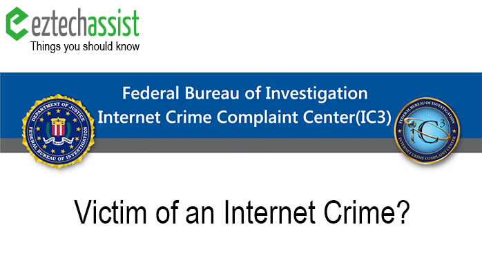 Are You a Victim of an Internet Crime?