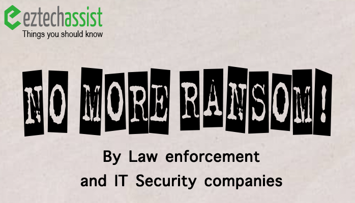 No More Ransomware!
