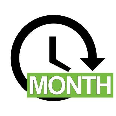 Digital Signage One Month Advertisement