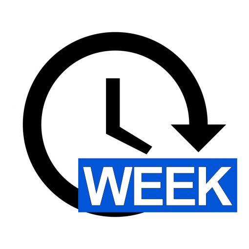 Digital Signage One Week Advertisement